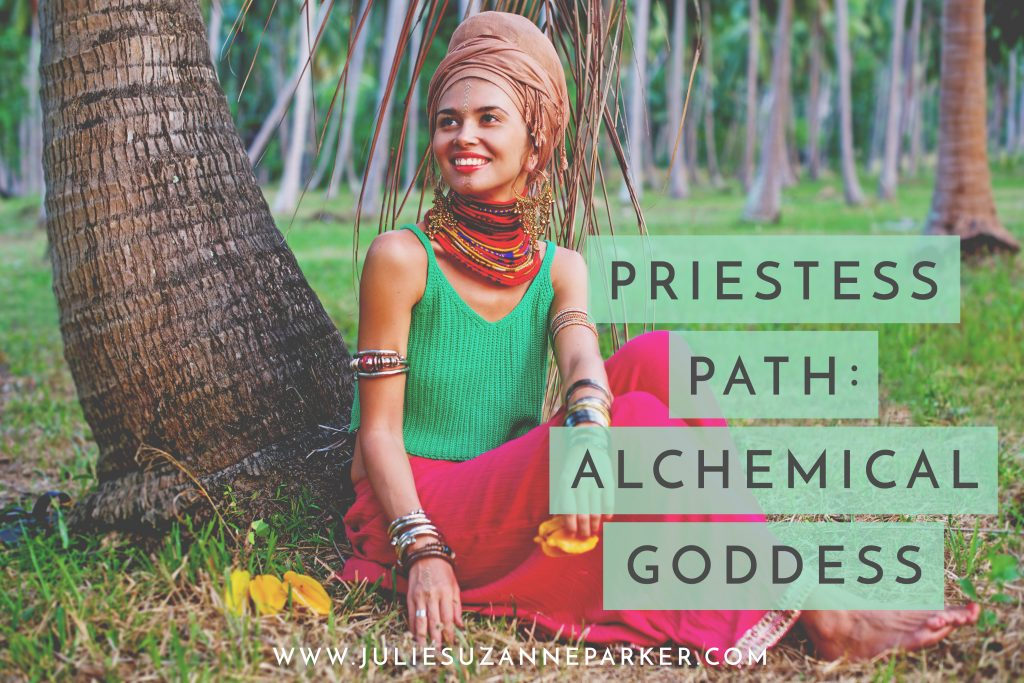 Priestess Path Alchemical Goddess