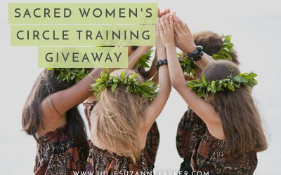 Sacred Women's Circle Training – Giveaway