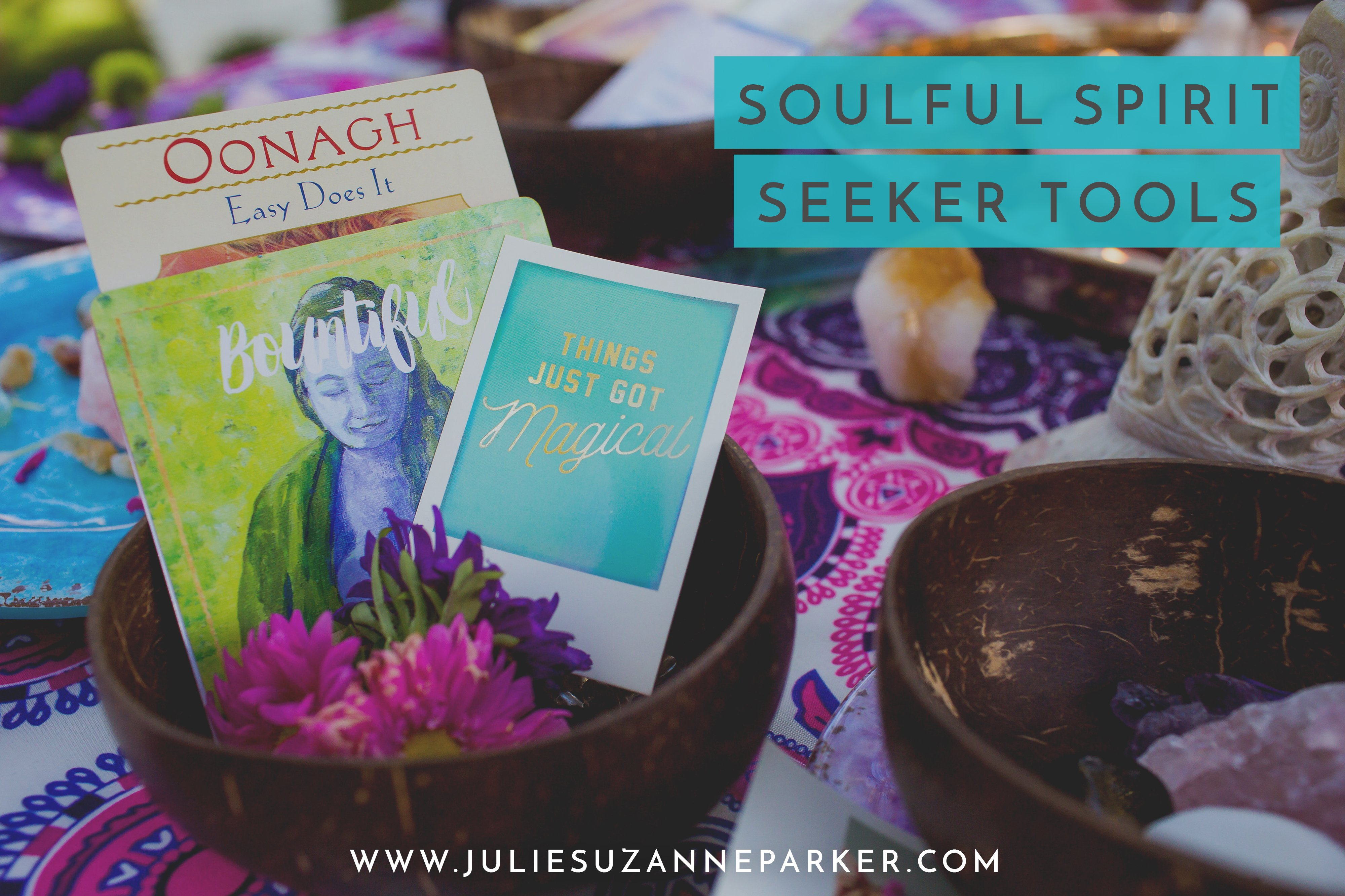 Soulful Spirit Seeker Tools (And a Goddess Mist Giveaway