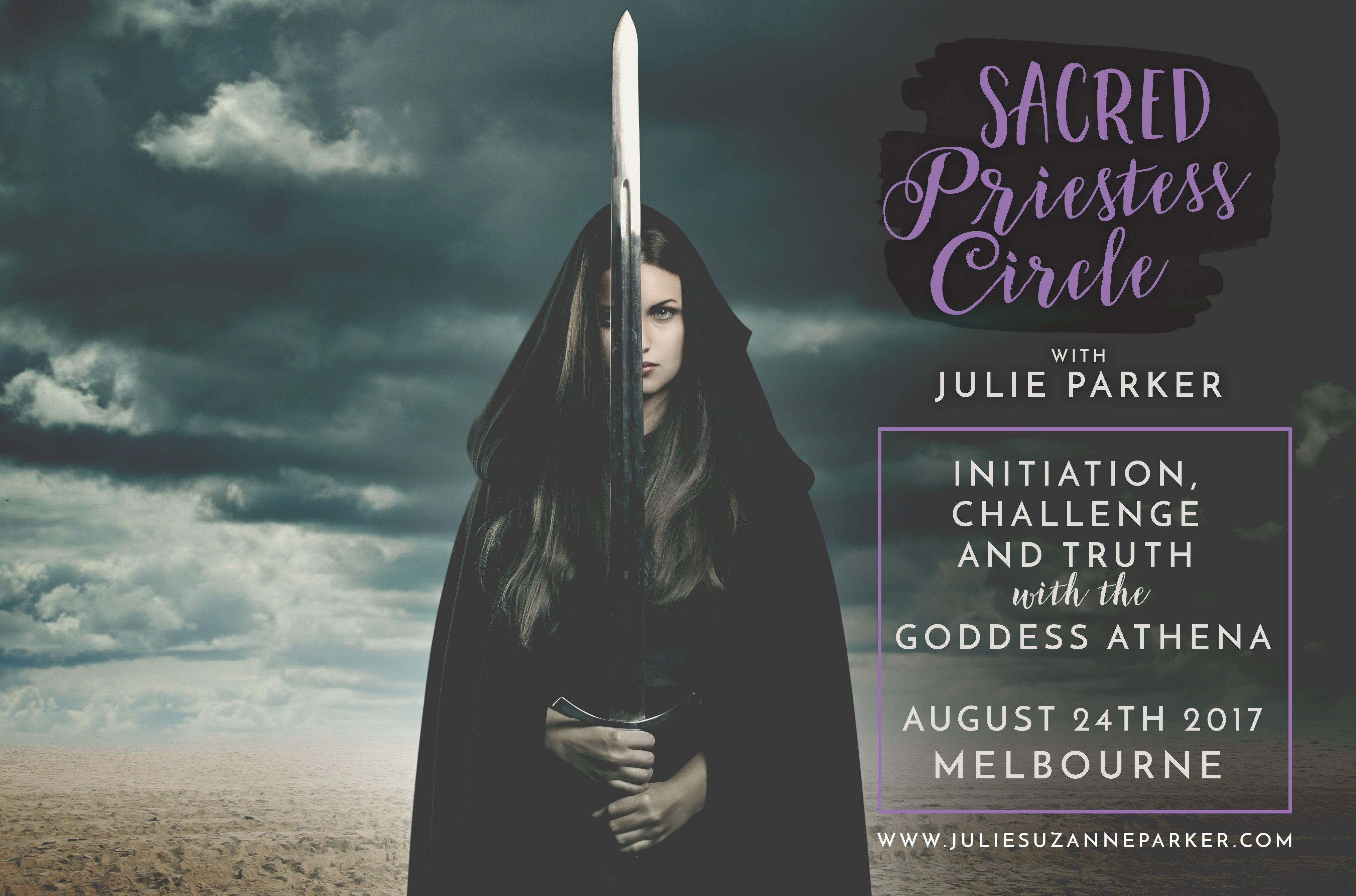 Sacred Priestess Circle: Goddess Athena