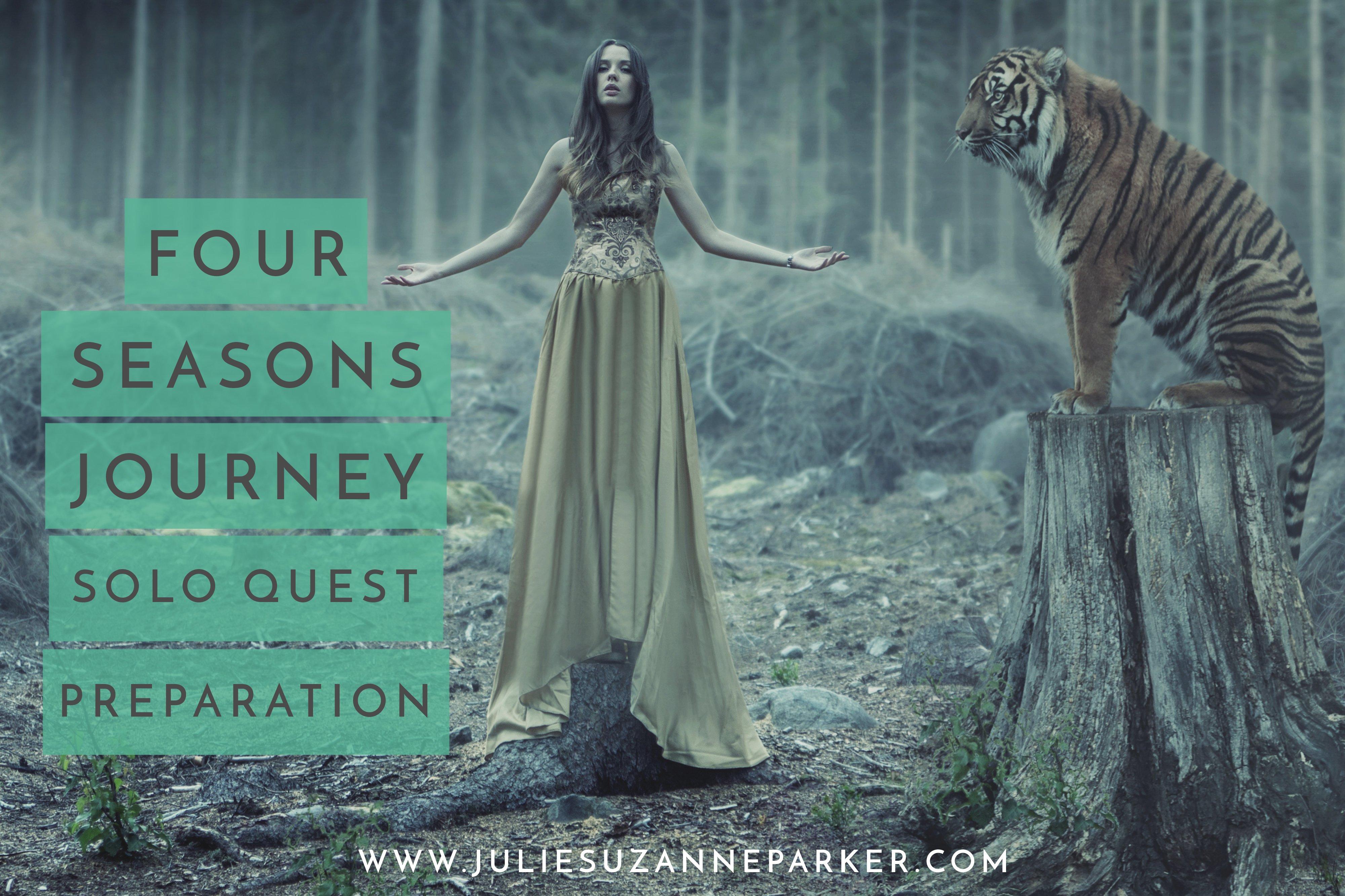 Four Seasons Journey: Solo Quest Preparation
